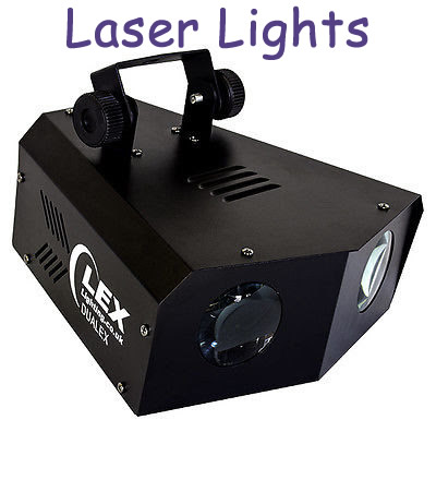Laser lights to hire